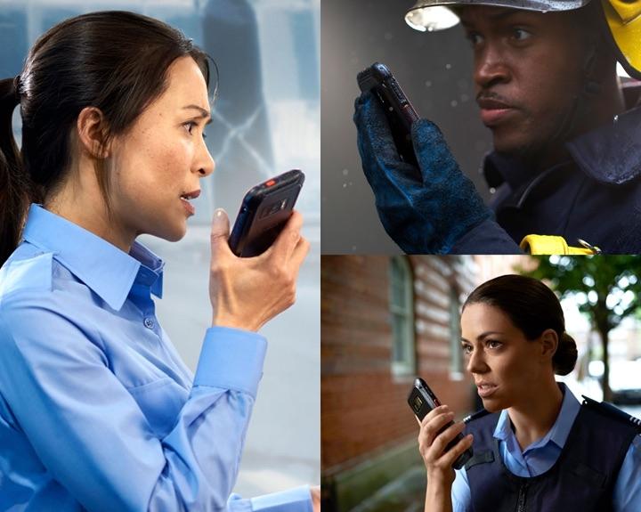 Samsung rugged hulpdiensten telefoons
